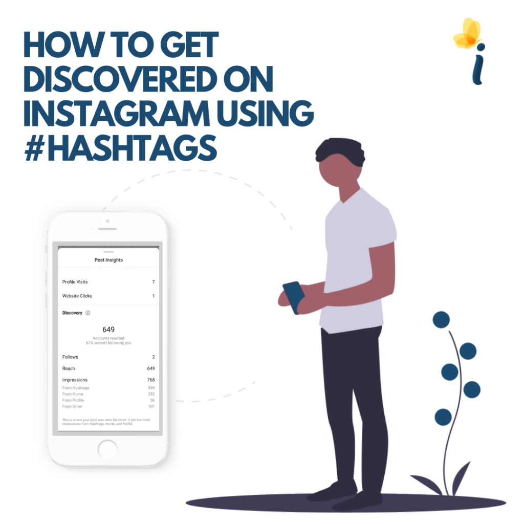 How to get discovered on Instagram using Hashtags
