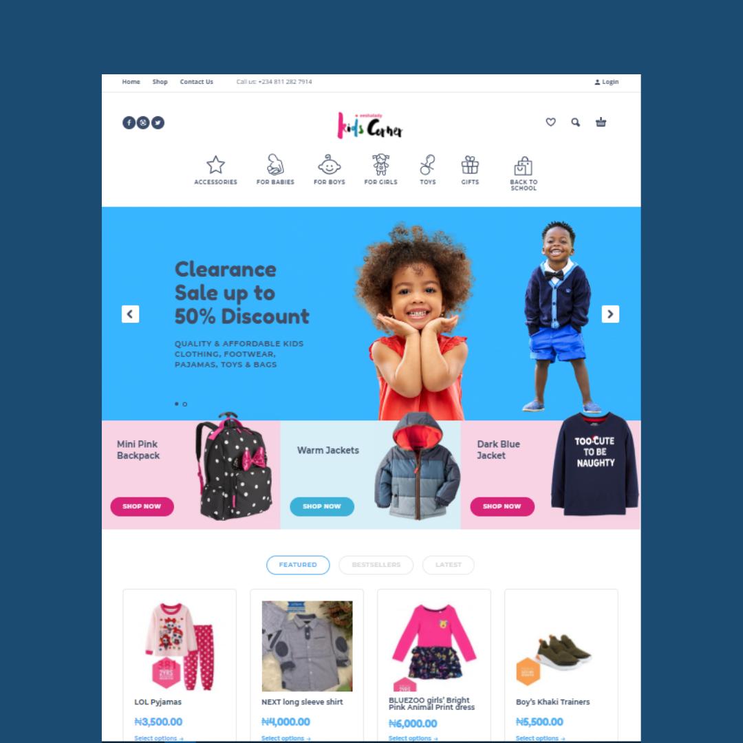 Ek Website